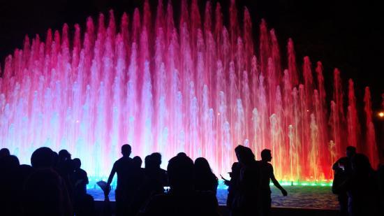 Fuentes con luces, un espectáculo aparte - Picture of Circuito ...