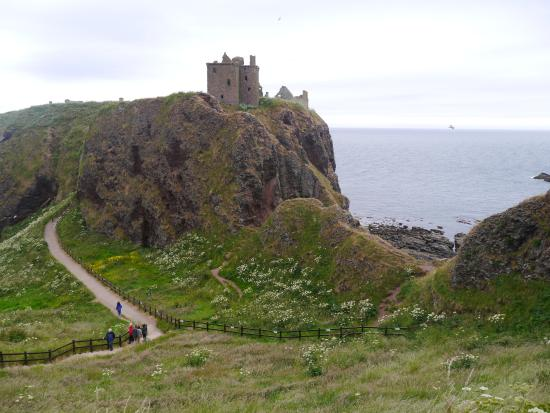 Stonehaven, UK: Some of the step!
