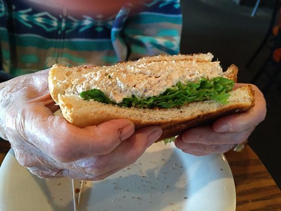 Sugarbush Tavern: Tuna Salad Sandwich