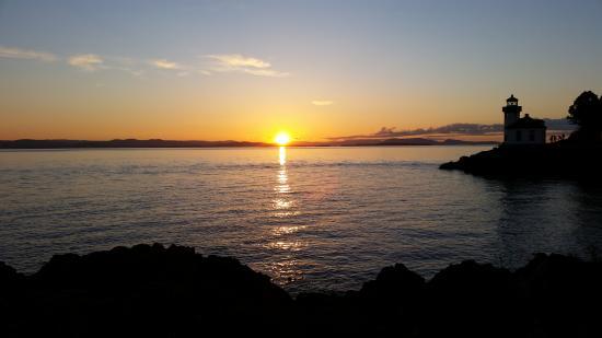 Friday Harbor, WA: Sunset