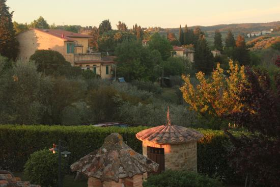 ‪‪I Melograni del Chianti‬: View from our room‬