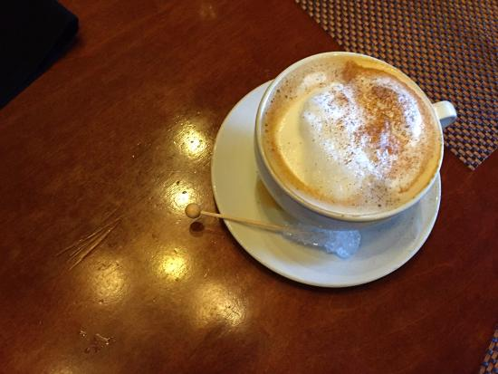 Sterling Heights, MI: Magical cappuccino