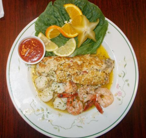 Orange, VA: Seafood dinner-5-21-16