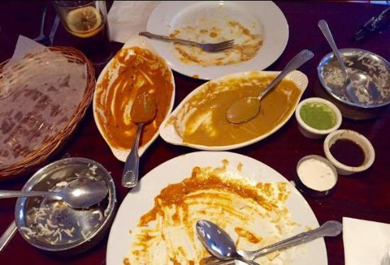 the curry house: We didn't like it, can you tell?
