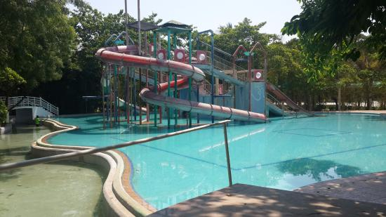 Hotel grounds area picture of lahari resorts hyderabad tripadvisor for Resorts with private swimming pool in hyderabad