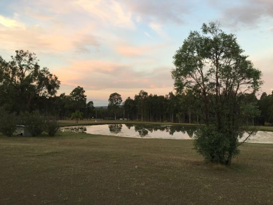 Woolshed Hill Estate: Amazing sunsets