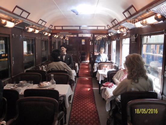Denmark's Railway Museum: Restaurant vogn