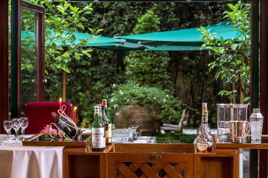 Rlj picture of relais le jardin restaurant florence for Le jardin restaurant