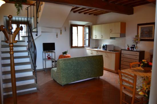 Castelfranco di Sopra, Italien: uliveta appartamento