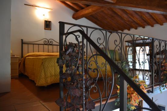 Castelfranco di Sopra, Italien: camera da letto margherita