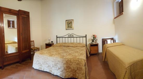 Castelfranco di Sopra, Italien: camera uliveta
