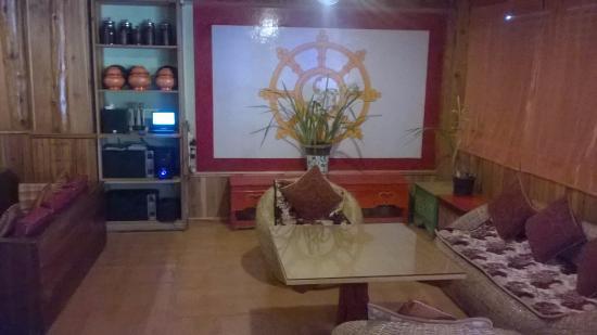 cozy ethnic style resto bar