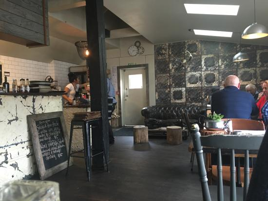 Эрроутаун, Новая Зеландия: View of the cafe interior