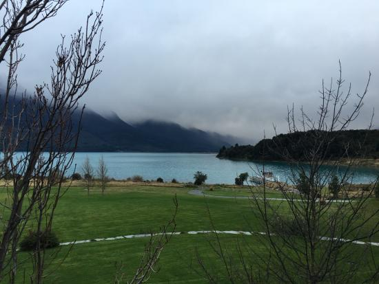 Blanket Bay: Our view on arrival