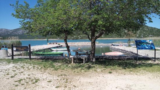 Vrana Lake Nature Park Foto