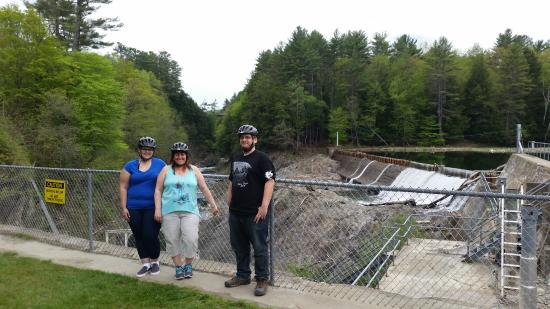 Quechee, Vermont: One of the dams