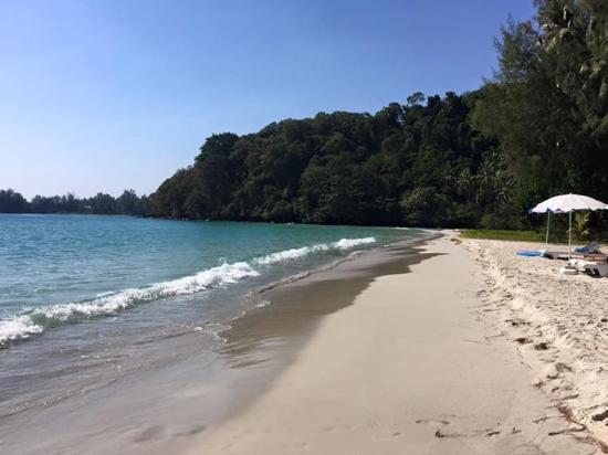 Koh Kood Neverland Beach Resort: nice sand beach