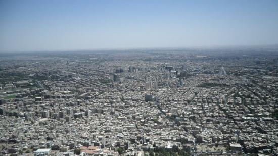Mount Qassioun (Jebal Kasioun): view