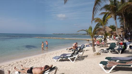 Beach Scene Picture Of El Dorado Sensimar Riviera Maya Puerto