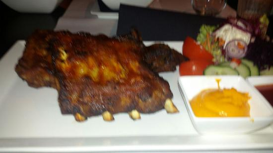 Retie, Bélgica: Het gerecht dat ik gezerveerd kreeg smaakte goed!