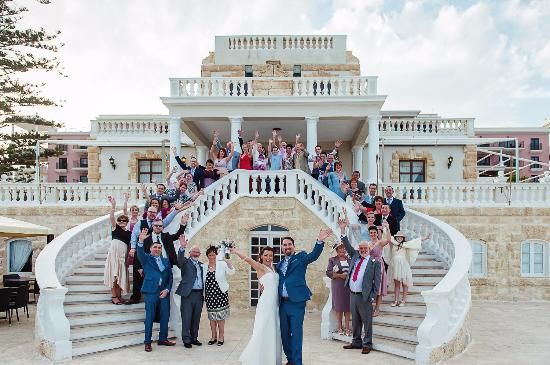 The Westin Dragonara Resort, Malta: Kevin & Aisling's Wedding at the Quadro Terrace