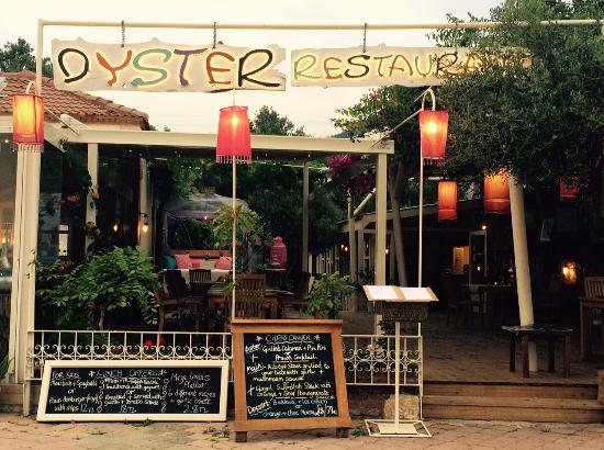 Oyster Restaurant by beach