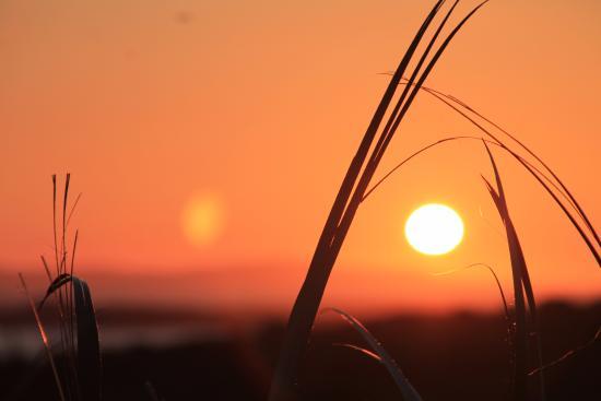 Cnoc Breac: Sonnenuntergang