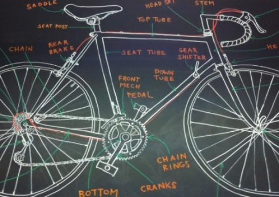 Barham, UK: The anatomy of a bike