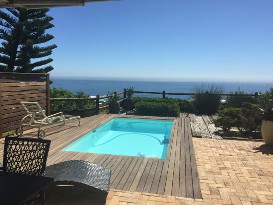 Camps Bay, Sudáfrica: The pool and the amazing views