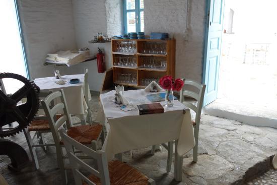 Sifnos, Grecia: Salle intérieure