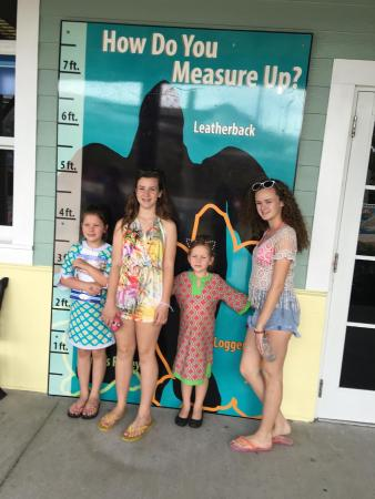 Juno Beach, FL: Measuring!