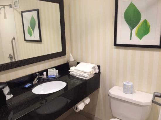 Fairfield Inn Corning Riverside: bathroom