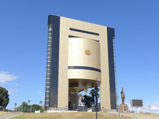 Windhoek, Namibia: im Mai 2016 aufgenommen