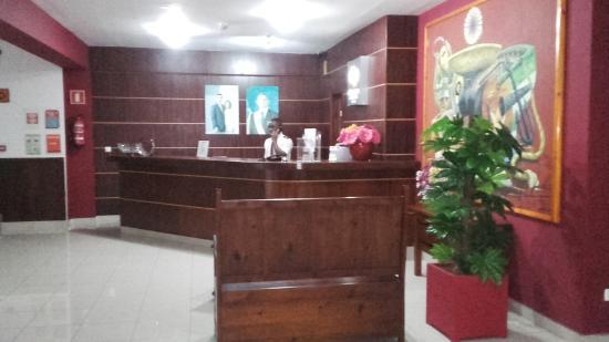 Don Paco Hotel : Recepción