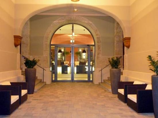 Schlosshotel Blankenburg/Harz: Eingangsbereich Schlosshotel Blankenburg
