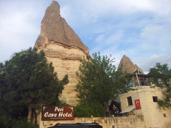 Peri Cave Hotel & Pension : peri cave otel genel görünüm