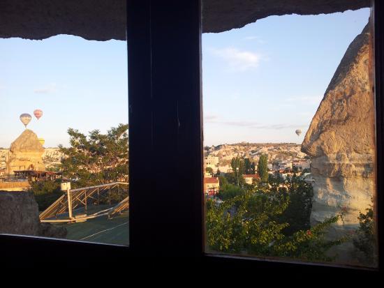 Peri Cave Hotel & Pension : peri cave otel oda manzarası