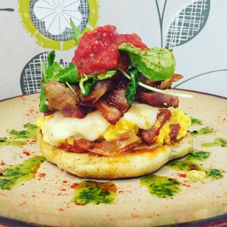 D'lush Cafe: D'lush style scrambled eggs!
