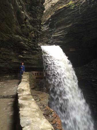 Watkins Glen State Park: waterfall 1