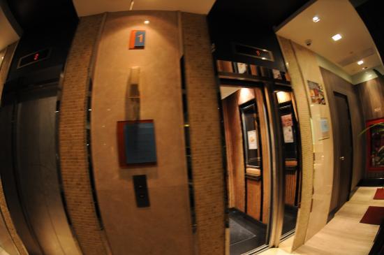 Amora Neoluxe: The Lobby area