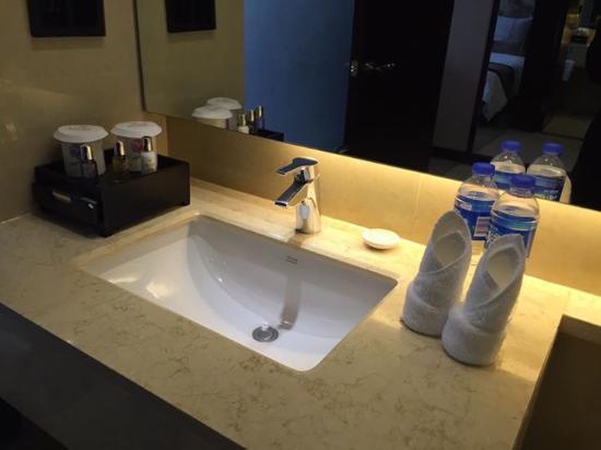Guangdong Yingbin Hotel (Guest House) : Free water