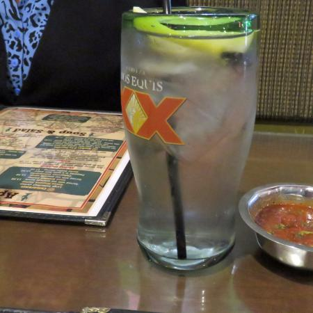 Manteca, CA: Water with lemon, cold