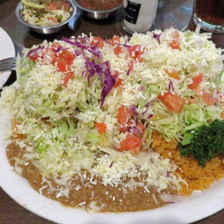 Manteca, CA: Two Sopes, my recommended dish, delicious