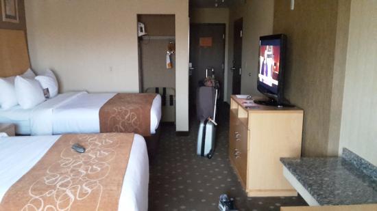 Monroeville, PA: Onze kamer.