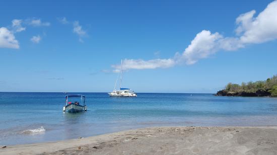 Anse La Raye, Sta. Lucía: Beach