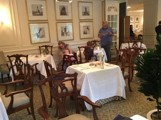 The Hay Adams Dining Across From White House
