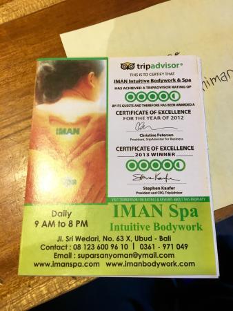 IMAN Intuitive Bodywork & Spa: photo0.jpg