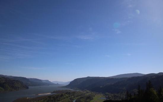 Corbett, Орегон: Vista house and view