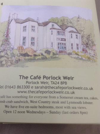Porlock Weir, UK: photo0.jpg
