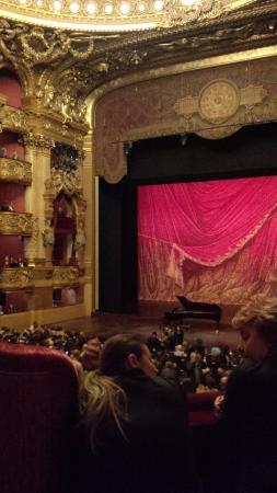 París, Francia: Palais Garnier Stage